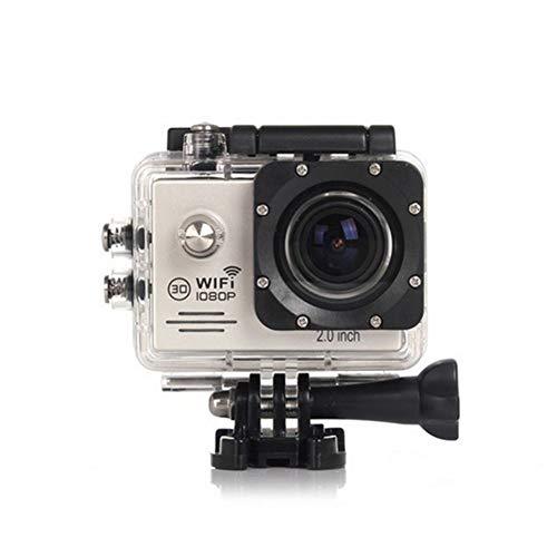 CYYMY 1080p Action Cam,Hyper Stabilizzazione Videocamera, Fotocamera Impermeabile con Funzione,170° Grandangolare,30m con Fotocamera Subacquea Digitale,per Sport e attività,2