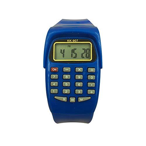 YSoutstripdu Kinder Sport-Digital-Armbanduhr, Taschenrechner, Prüfungs-Werkzeug, Geschenk für Kinder