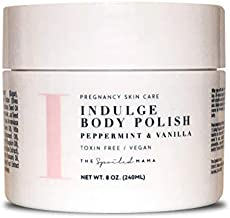Indulge | Peppermint Body Polish for Stretch Mark Prevention ~ Safe for Pregnancy