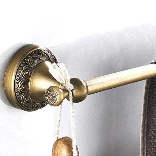BXU-BG El Cobre de Pared de Toallas de baño, Cepillado Estante de Toalla de baño Toalla Gancho Libre de Estilo Europeo de punzonado