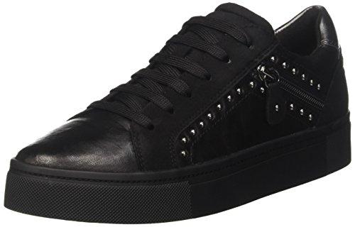 Geox D HIDENCE B, Zapatillas Mujer, Negro (Black), 41 EU