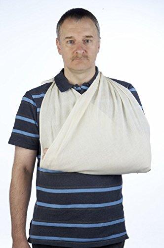 Dreieckige Bandage nicht gewebt, 12 Stück