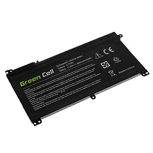 Green Cell BI03XL ON03XL HSN-I08C HSTNN-LB7P HSTNN-UB6W TPN-W118 843537-421 843537-541 BI03 Batería para HP Pavilion x360 11-U 13-U M3-U HP Stream 14-AX 14-CB Ordenador (3600mAh 11.55V Negro)