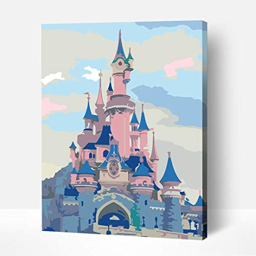 Artwille DIY Paint by Numbers for Adults & Kids 13.8x17.7 Inches Canvas Acrylic...