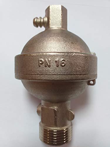 Válvula de purga tipo Roma 1' niquelada