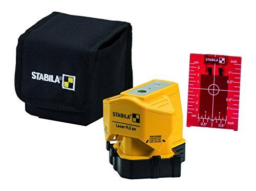 Stabila 18574 FLS 90 3-teiliges Set Bodenlinien-Laser, gelb