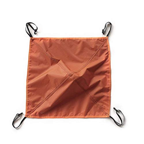 Yeucan Automatique Tente Tête Couverture Oxford Tissu en Plein Air 3-4 Personnes Léger Voyager Randonnée Camping Fournitures,Orange