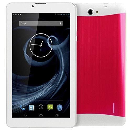 YANTAIAN 7.0 Pulgadas Tablet PC, 1 GB + 16GB, Llamada telefónica 3G Android 4.4.2, MTK6582 Cuadro cuádruple hasta 1.3GHz, OTG, SIM Dual, GPS, WiFi, Bluetooth (Color : Magenta)
