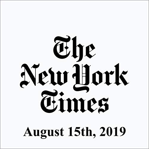 August 15, 2019 cover art