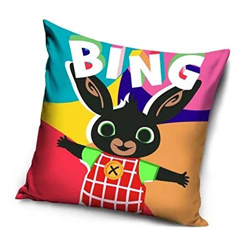 Le fantasie di casa Federa per Cuscino da Bambini 40 x 40 Bing Multicolore in Poliestere Originale Acamar.