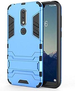 جراب من sizOO - جراب نصف ملفوف - لهاتف 6.1 Plus لـ 6.1 جراب ثلاثي الأبعاد لهاتف X6 2018 TA-1099 5.8 بوصة جراب خلفي للهاتف ...
