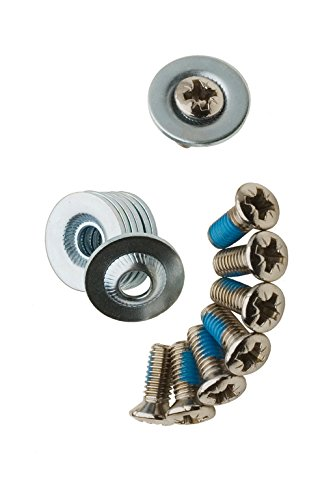 ICETOOLS MOUNTING SCREW SET 2012 silver, 16mm