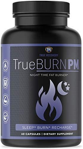 TrueBURN PM Night Time Fat Burner for Women Men Sleep Aid Appetite Suppressant Metabolism Booster product image