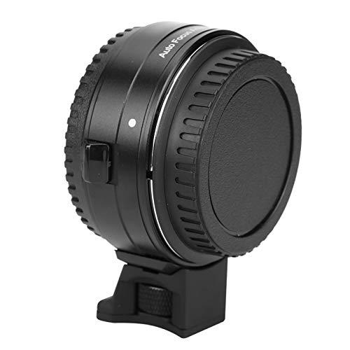 zhuolong Anillo Adaptador de Montaje de Lente de Enfoque automático Commlite para Lente Canon EF/EF-S a cámara con Montura RF EOS R