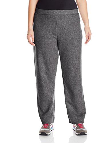 Just My Size Women's Plus-Size Fleece Sweatpant, Slate Heather, 3XL Petite