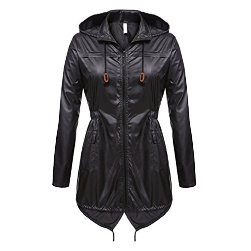 WEIMEITE Frauen Leichte Packable Outdoor Coat Winddicht Hoodies Regenjacke wasserdichte Aktive Outdoor Jacke