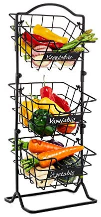 Vegetable stand for kitchen