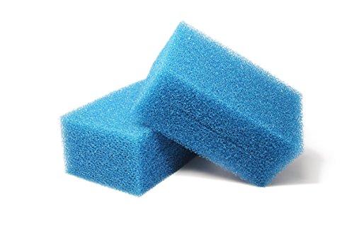 LTWHOME Compatible en Mousse Convient pour Oase Biotec Screenmatic 18 & 36 Remplacement Etang Bleu Grossier Mousseux Filtre Éponge (Paquet de 2)
