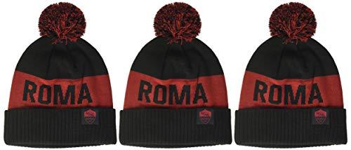 NIKE A.S. Roma – Gorra Unisex – Adulto, Negro/Team Crimson/Black/Team Crimson, Talla única