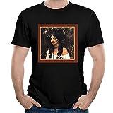 Photo de HAIZHENY Homme Emmylou Harris Roses in The Snow Cotton Manches Courtes/T-Shirt Tee Large par