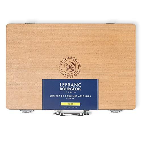 Lefranc & Bourgeois Caja Madera oleo Fine, Multicolor, 40ml