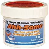 Ahh-Some – Hot Tub Cleaner, Clean Pipes & Jets Gunk Build Up, Clear & Soften Water for Jacuzzi, Jetted Tub, Purges 400 Gallon Water Tub 4 Times (2 Oz)