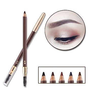 Eyebrow Pencil Longlasting Waterproof Durable Automaric Liner Eyebrow 5 Colors to Choose  2# Dark Brown