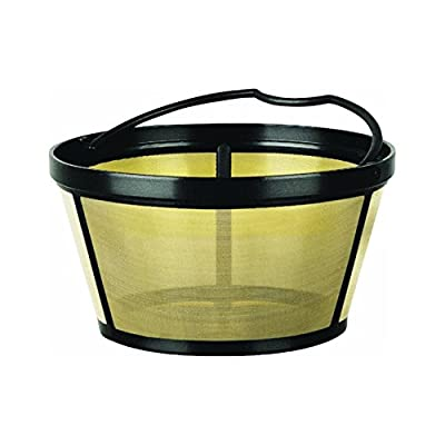 Mr. Coffee Basket-Style Gold Tone Permanent Filter -