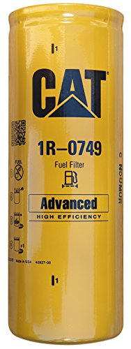 Caterpillar 1R-0749 Advanced High Efficiency Fuel Filter Multipack (Pack of 1)