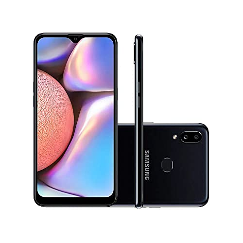 "Smartphone Samsung Galaxy A10s Dual Chip Android Tela 6,2"" Octa-Core 2GHz 32GB 4G Câmera 13MP + 2MP - Preto Absurdo"
