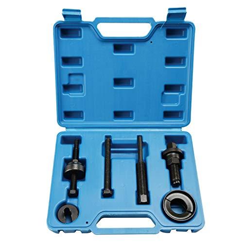 FreeTec 6 Stück Riemenscheibenabzieher Set mit Kugellagerabzieher Installationswerkzeug Set Kompatibel mit Ford GM