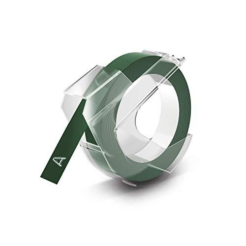 Dymo Prägeband 9mm x 3m glänzend grün 1er Pack