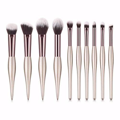GONGFF Maquillage Pinceaux Outils Kits Anti-cernes Facial Fard À Paupières Fard À Paupières Micro Brosses Ensembles Kits