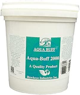 Aqua Buff 2000 ONE Step Buffing & POLISHING Compound, Fiberglass Coatings, Inc, DIY, Boat, Gel Coat, CAR Paint, AUTO, Metal, Aluminum, Professional Grade for Professionals, 1 Pint