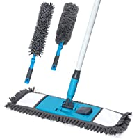 Baban Microfiber Duster with 3 Dusting Attachments