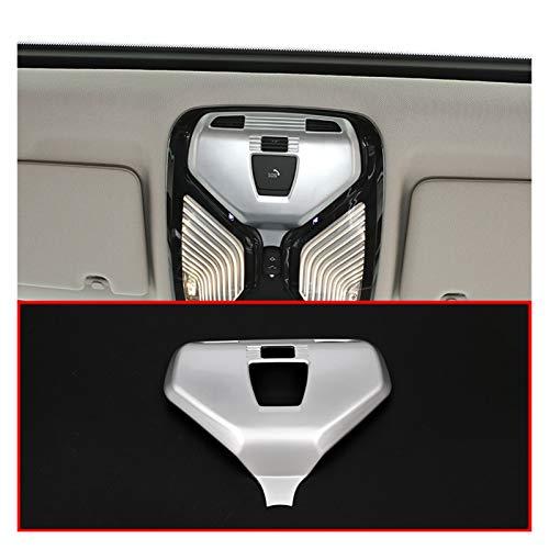 ZHIXIANG Ajuste para BMW 5 Series G30 X4 G02 2017 2017 ABS Mate Matte Silver Coche Lámpara de Lectura Lámpara de Lectura Frame Ajuste para BMW 7 Series G11 G12 2016-2018