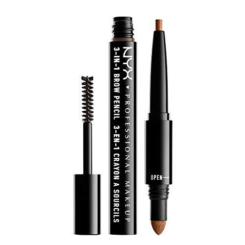 NYX PROFESSIONAL MAKEUP 3-In-1 Brow Pencil - Caramel