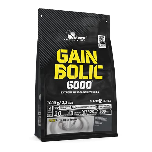 Olimp Gain Bolic 6000 Schokolade, 1er Pack (1 x 1 kg) OLI1024/358/1079, 1000 g