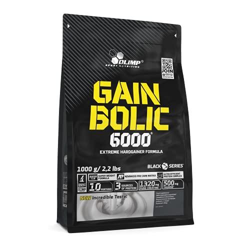 Olimp Gain Bolic 6000 Bag Mass Gainer Supplement, Chocolate 1kg