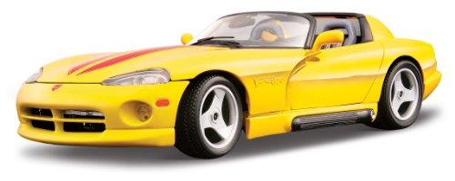 BBurago - 22024 - Voiture sans pile - Reproduction - Dodge Viper Rt/10 - échelle 1/24 - Coloris aléatoire