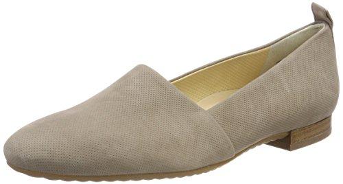 Paul Green Damen Old Nubuk Trüffel Sneaker, Mehrfarbig (Perf 362), 37 EU