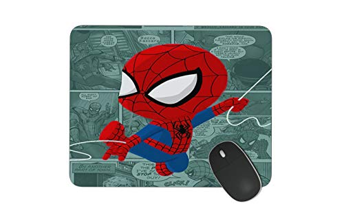JNKPOAI Anti-Slip Mouse Pad Marvel Games Mouse Pad Personalized Design of Notebook Mouse Pad Spider-Man Printed Mouse Pad (Spider-Man#1)