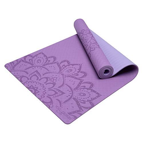 YOGA DESIGN LAB The Flow Mat Pure (Mandala Lavender)