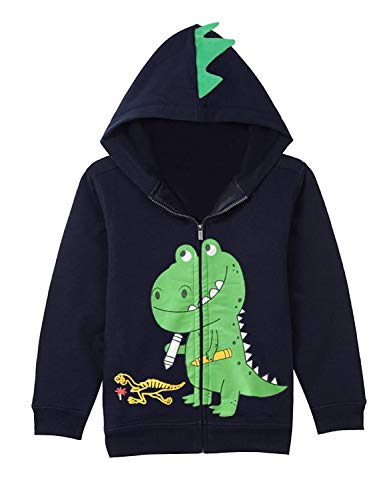 Boys Dinosaur Sweatshirts Cartoon Winter Long Sleeve Kids Sport Outdoor Pullover Tops Tees Toddler 6t 7t