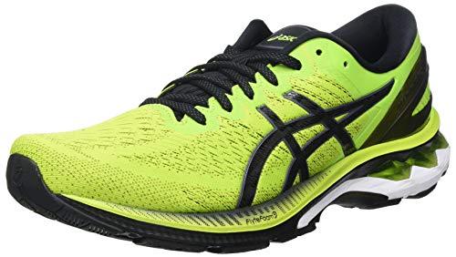 ASICS Herren Gel-Kayano 27 Road Running Shoe, Lime Zest/Black, 45 EU
