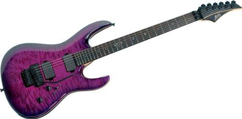 LAG A3000 DPU ARKANE 3000 DEEP PURPLE + KOFFER E-Gitarren Metal - Modern