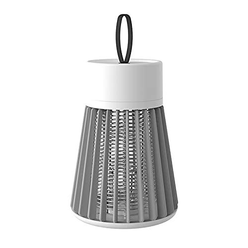 Buyup Luz LED antimosquitos con USB, lámpara de camping eléctrica para exteriores e interiores (gris)
