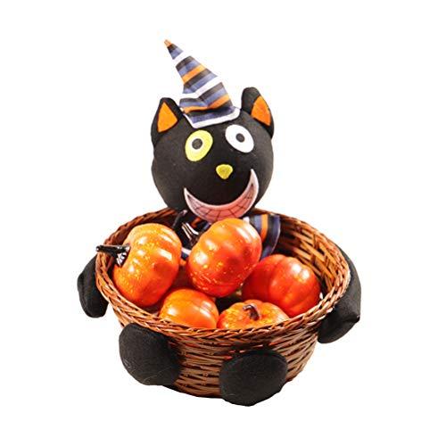 Halloween Candy Basket Halloween Candy Basket Halloween zwarte kat/pompoen/heksen/ghost Candy koekenmand thuis winkelcentrum kerstfeest decoratie
