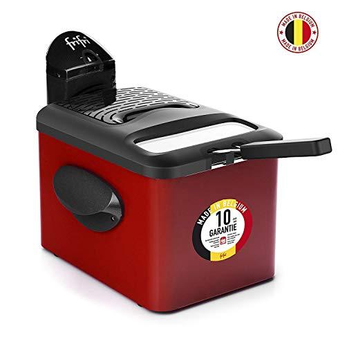Frifri 1905R Solo 3.5L 3200W Negro, Rojo - Freidora (3,5 L, 1 kg, Solo, Negro, Rojo, 3200 W, 280 mm)