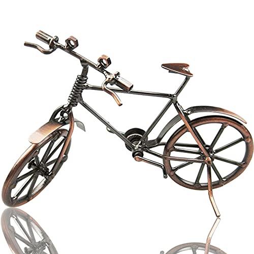 ysister Modelo de Bicicleta de Metal, Bicicleta Decorativa, Arte de Hierro Vintage, Modelo de Bicicleta, colección de...